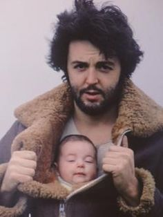 Paul and baby Mary