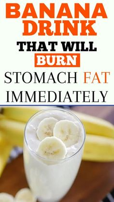 this super-fruit contains a high level of potassium that helps to eliminate toxins from one's body. Besides this, when bananas are combined with flax and spinach, they boost the work of the metabolism and thus help the process of weight loss. Fat Burning Tea, Best Fat Burning Foods, Fat Burning Drinks, Banana Drinks, Smoothie Drinks, Diet Drinks, Breakfast Smoothies, Healthy Juices, Healthy Drinks