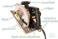 Circular Saw Tutorial #Circular Saw #power tools #projects #woodworking