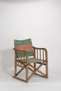 Entwurf unbekannt, Klappstuhl in der Art eines Regiestuhls (ca. 1930)