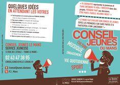 R° Flyer couleur - A4 Horizontal - Conseil des Jeunes 2013 - LE MANS