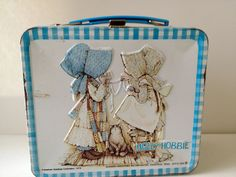 holly hobby | Vintage Holly Hobbie Lunchbox Set with by thehoneysuckleshop