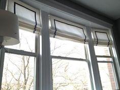 DIY Home Decor: DIY Roman Shades