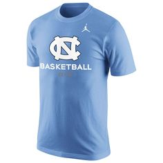4b8f9d02c North Carolina Tar Heels Brand Jordan Basketball University T-Shirt -  Carolina Blue