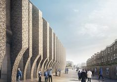 herzog de meuron chelsea stadium new stamford bridge london designboom