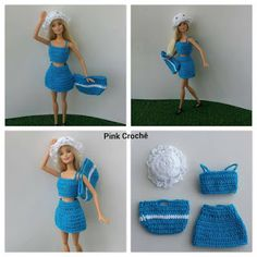 Pink Crochet: Barbie