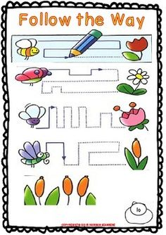 Spring Funny Mini-Booklet for Pre-Kinders and Kinders - Math's/ELA/CCA