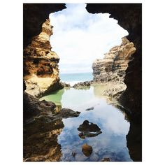 one of the most beautiful places I've ever been to #australia #greatoceanroad #thegrotto #12apostles #victoria #melbourne #travel #travelgram #sea #takemeback #wanderlust by janinadtzl http://ift.tt/1ijk11S