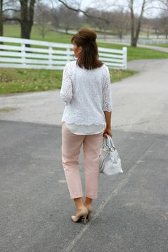 27 Days of Spring Fashion: The Harper Pant from Old Navy - Grace & Beauty