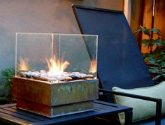 diy portable fire pit. amazing.