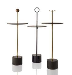 PARIS DESIGN WEEK 2015: Favorite Finds  |  CIGG Side Tables by Brazilian designer Jader Almeida.