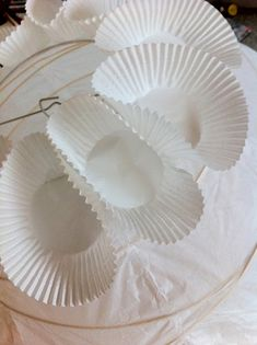 diy project: sculptural paper orb lights – Design*Sponge