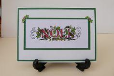 Molly's Crafty World: Noel