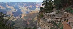 When hiking the Grand Canyon take a break of at least 10 minutes every hour. Prop your legs up, have a drink and enjoy the view! (Image Source: https://flic.kr/p/bxTTFn)