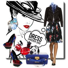20 Ways To Wear A Vintage Dress And A Leather Jacket