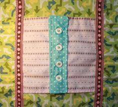 Craftcore | Fidget Quilt for Alzheimer's Patients Quilt Block 2