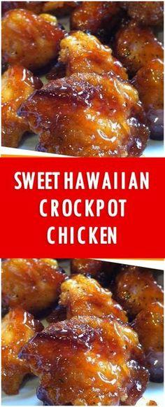 Sweet Hawaiian Crockpot Chicken Recipe 0 SHARES Share Pin it . To Remember it Sweet Hawaiian Crockpot Chicken Recipe Crockpot Dishes, Crock Pot Cooking, Healthy Crockpot Recipes, Slow Cooker Recipes, New Recipes, Cooking Recipes, Recipies, Crockpot Recipes For Parties, Healthy Crock Pots