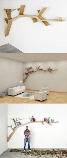 Fabulous bookshelving – TimeForDeco.com