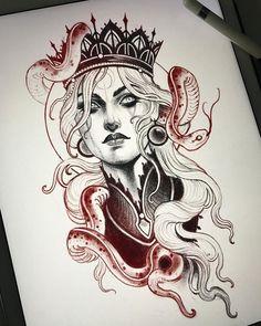 Neo Tattoo, Dark Art Tattoo, Medusa Tattoo, Tatoo Art, Tattoo Flash, Tattoo Ink, Tattoo Design Drawings, Tattoo Sketches, Tattoo Designs