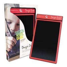 Improv Electronics Boogie Board Original LCD eWriter, Red Improv Electronics, PT01085REDA0002 - Databazaar.com