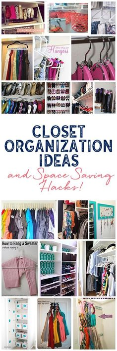 A Ton Of Awesome Closet Organization Ideas To Make All Of Your Closets  Functional And A