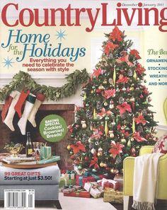 Cottage Living Magazine Christmas Lake Cottage Christmas