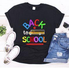 School Shirts, Teacher Shirts, Back To School, T Shirt, Tops, Women, Fashion, Supreme T Shirt, Moda