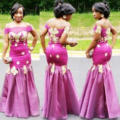 Look Chic in These Gorgeous Aso Ebi Gowns African Inspired Fashion, African Print Fashion, Africa Fashion, African Prints, African Prom Dresses, African Fashion Dresses, Nigerian Fashion, African Outfits, Ghanaian Fashion