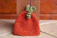 CROCHET PATTERN - Pumpkin Beanie. $3.50, www.etsy.com/shop/sweetdecemberhats