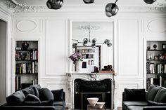 Exclusive: This Striking Parisian Apartment Had Us at Bonjour via @MyDomaine