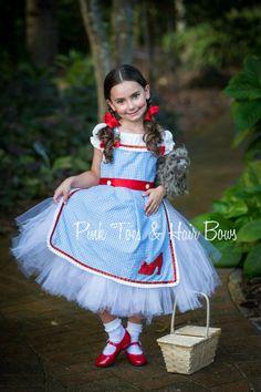 Dorothy Tutu dress Wizard of oz tutu dress by GlitterMeBaby