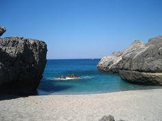 Damnoni beach, Kreta