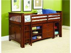 Shop for Lea Industries 3/3 Loft Bed Ends, 207-964C, and other Youth Bedroom Beds at Coconis Furniture in South Zanesville, OH.
