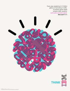 Office collaborated with Ogilvy & Mather New York to create a visual vocabulary for IBM's Smarter Planet campaign influenced by Paul Rand's original design vision for the company