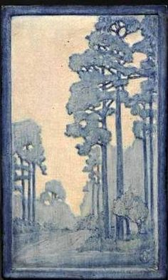 A 1917 Newcomb College art pottery plaque decorated by Henrietta Bailey
