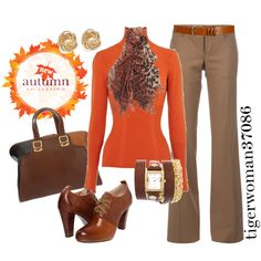 """Fall Work Outfit"" by tigerwoman37086 on Polyvore"