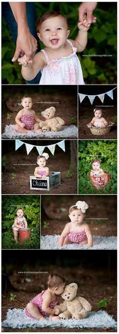great ideas for taking baby pics