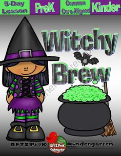 If you follow my shop, Grab your FREE copy of  'Witchy Brew Lessons' - Plan out your learning environment for the fall and grab this fun Halloween lesson. You'll have plenty of time to prepare your teaching strategies so you're ready when your preschoolers are ready. http://www.teachersnotebook.com/product/RFTS-Preschool/witchy-brew-5-day-thematic-unit