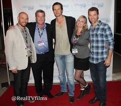 Kevin McMahon, Steven Istock, Randall Batinkoff , Suanne Hastings, Eric Sweeney, Breaking Glass Pictures Mixer, Indyoh Lounge, AFM 2014