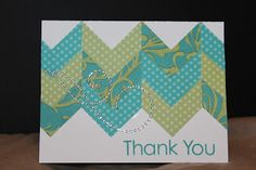 card by Maria Woodworth using CTMH Dotty For You paper