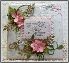 CC462 Psalm 130:5 by glowbug - Cards and Paper Crafts at Splitcoaststampers