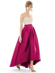 One of our favorite bridesmaid dresses because you can change the skirt and top colors to so many different options