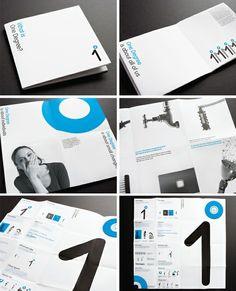 brochure - fold pattern