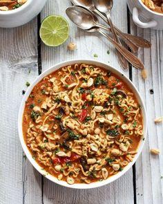 Thai Peanut Butter Noodles