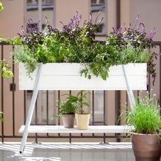 plants are friends Small Gardens, Outdoor Gardens, Garden Planter Boxes, Grow Boxes, Plants Are Friends, Wood Pallet Furniture, Scandinavian Living, Balcony Garden, Summer Garden