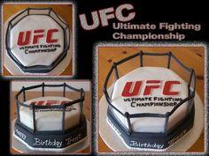 Zeb...UFC cake