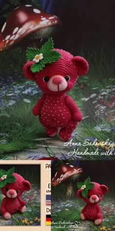 In this article we will share free amigurumi teddy bear crochet patterns. On our site you can find everything you are looking for about amigurumi. Crochet Teddy Bear Pattern, Crochet Amigurumi Free Patterns, Crochet Animal Patterns, Crochet Bear, Stuffed Animal Patterns, Cute Crochet, Crochet Animals, Crochet Crafts, Crochet Dolls