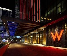 WAN INTERIORS Hotels, W HOTEL