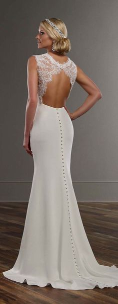 Martina Liana Spring 2016 Wedding Dress Women, Men and Kids Outfit Ideas on our website at 7ootd.com #ootd #7ootd