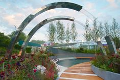 The Positively Stoke-on-Trent show garden at the RHS Chelsea Flower Show 2014 / RHS Gardening
